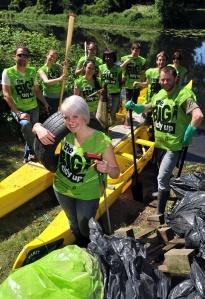 Big Tidy Up volunteers
