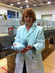 Jill Fisher, Pigeon fancier and member of the NPA