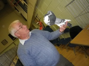 Richard Greenwood, pigeon fancier and member of the NPA