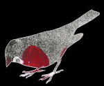 House Sparrow, digital illustration, 2016