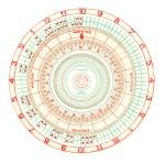 Pigeon clock graph, digital print, 2012