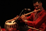 The Red Species List, concert featuring Waqas Choudhary on Banbury Flute, 2016