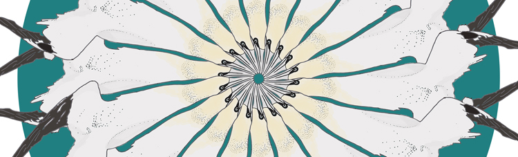 Diving Gannets (teal).jpg