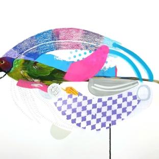 SOLD- Blossom-headed Parakeet (Rainbow)