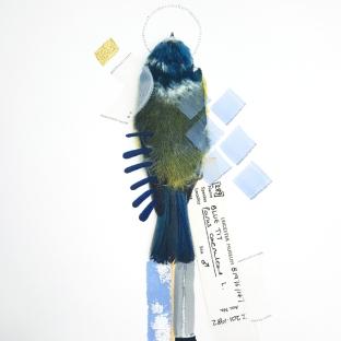 Blue Tit (Serenity). Size: A3